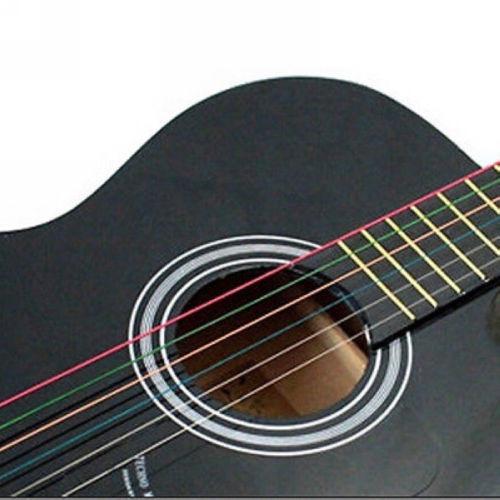 Žice u boji za akustičnu gitaru