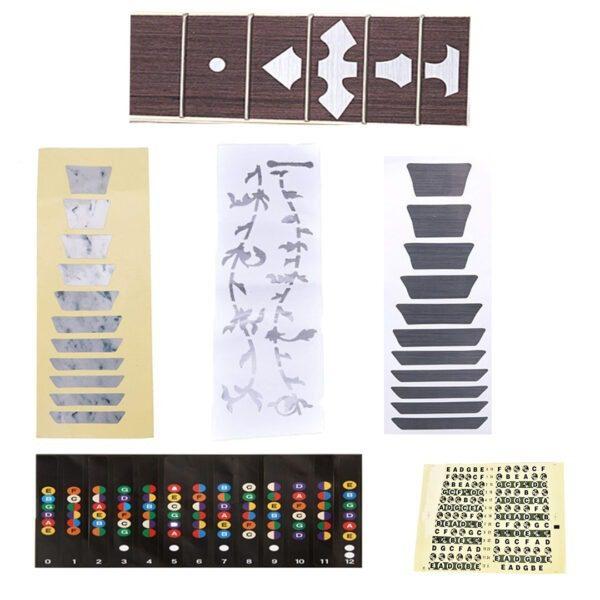Stikeri nalepnice za vrat gitare